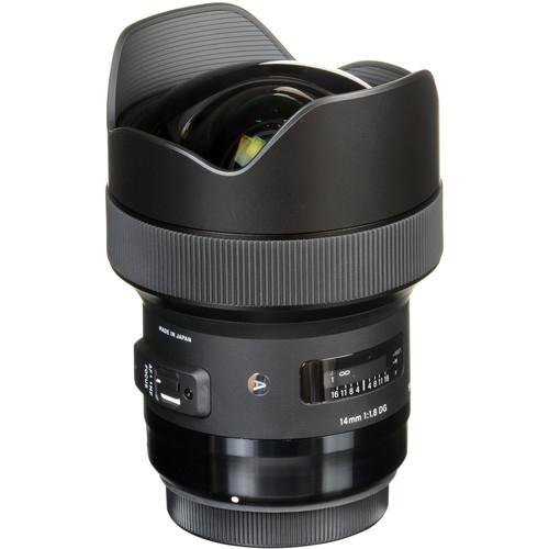 Sigma 14mm F1.8 DG HSM objektív, Canon fényképezőgépekhez 05