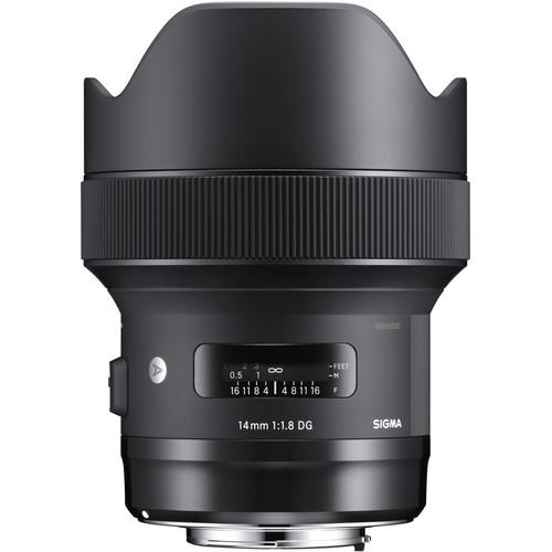 Sigma 14mm F1.8 DG HSM objektív, Canon fényképezőgépekhez 03
