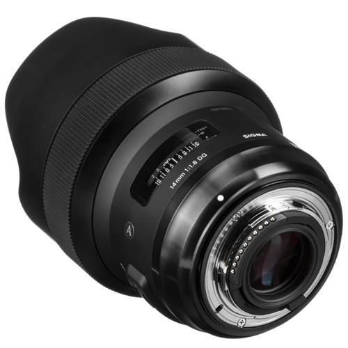 Sigma 14mm F1.8 DG HSM objektív, Nikon fényképezőgépekhez 06