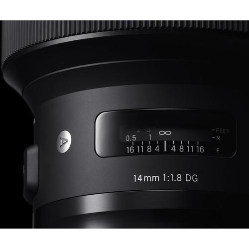 Sigma 14mm F1.8 DG HSM objektív, Nikon fényképezőgépekhez 08