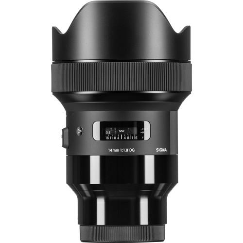 Sigma 14mm F1.8 DG HSM objektív, Sony fényképezőgépekhez 03