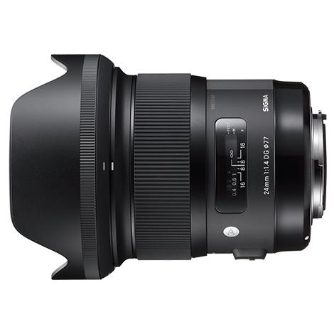 Sigma 24mm F1.4 DG HSM Art objektív Nikon DSLR fényképezőgépekhez 03