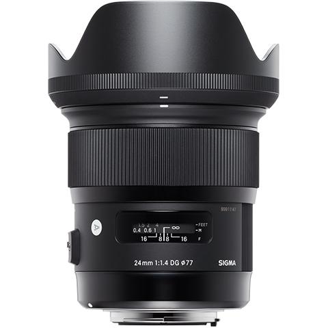 Sigma 24mm F1.4 DG HSM Art objektív Nikon DSLR fényképezőgépekhez 05