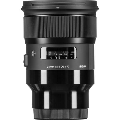 Sigma 24mm F1.4 DG HSM Art objektív Sony DSLR fényképezőgépekhez 05