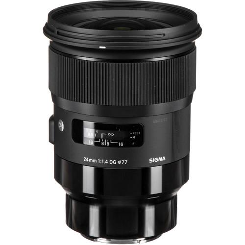 Sigma 24mm F1.4 DG HSM Art objektív Sony DSLR fényképezőgépekhez 03