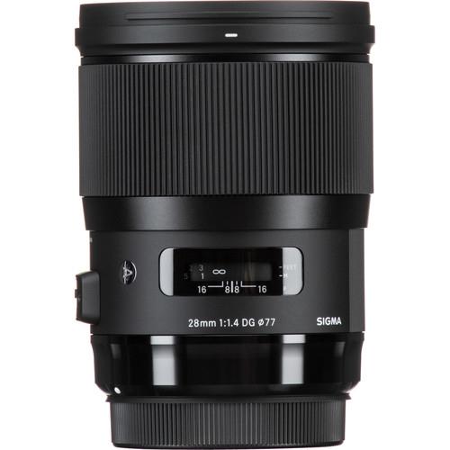 Sigma 28 mm F1.4 DG HSM objektív, Canon fényképezőgépekhez 09