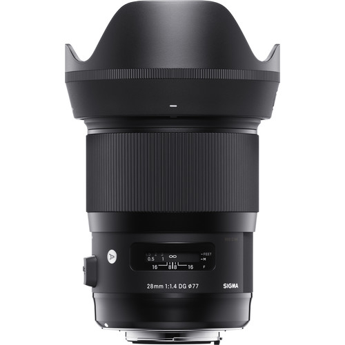 Sigma 28 mm F1.4 DG HSM objektív, Canon fényképezőgépekhez 04