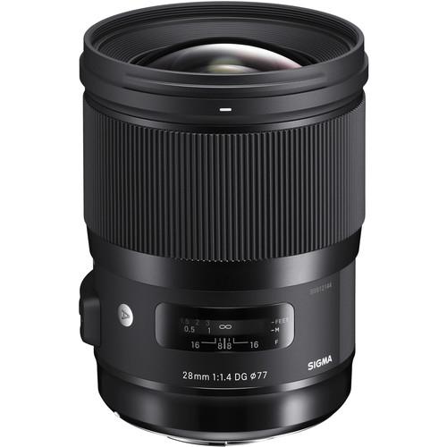 Sigma 28 mm F1.4 DG HSM objektív, Canon fényképezőgépekhez 03