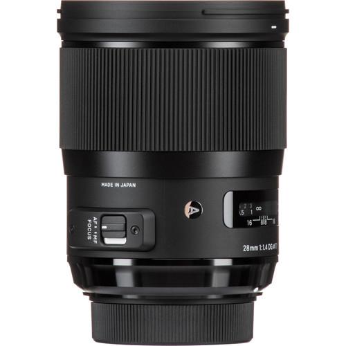 Sigma 28 mm F1.4 DG HSM objektív, Nikon fényképezőgépekhez 03