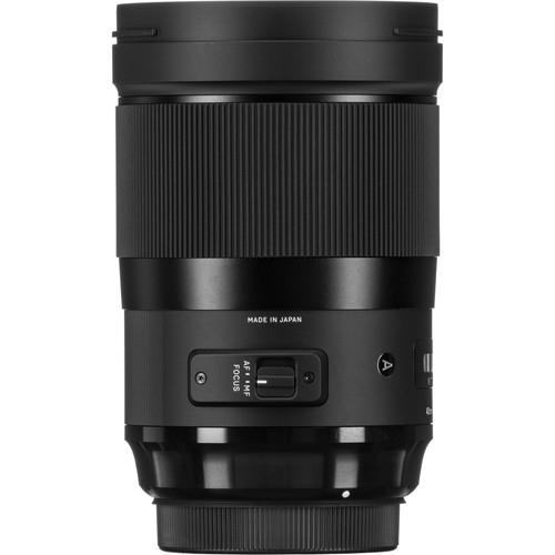 Sigma 40mm F1.4 DG HSM Art objektív, Canon fényképezőgépekhez 05