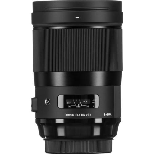 Sigma 40mm F1.4 DG HSM Art objektív, Canon fényképezőgépekhez 03
