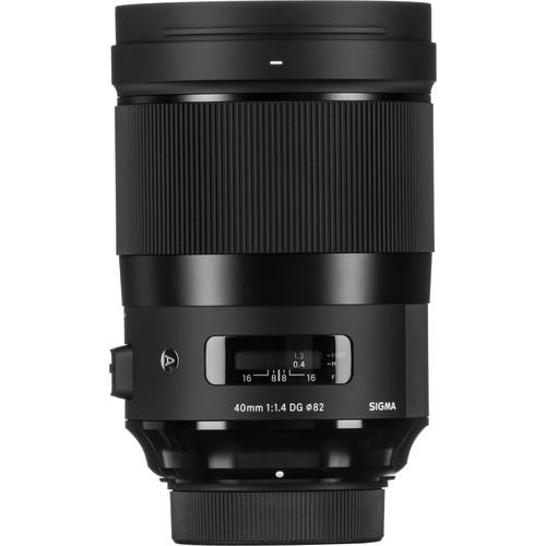 Sigma 40mm F1.4 DG HSM Art objektív, Nikon fényképezőgépekhez 03