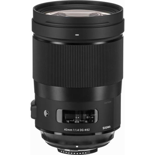 Sigma 40mm F1.4 DG HSM Art objektív, Nikon fényképezőgépekhez 09
