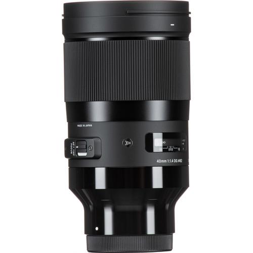 Sigma 40mm F1.4 DG HSM Art objektív, Sony fényképezőgépekhez 03