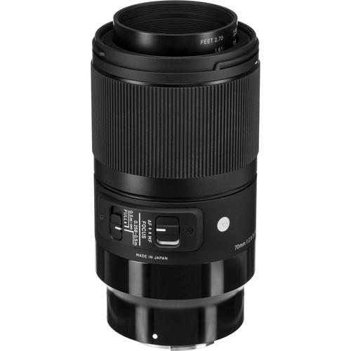Sigma 70 mm F2.8 (A) DG Art Macro objektív Sony fényképezőgépekhez 03