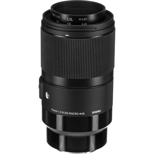 Sigma 70 mm F2.8 (A) DG Art Macro objektív Sony fényképezőgépekhez 05