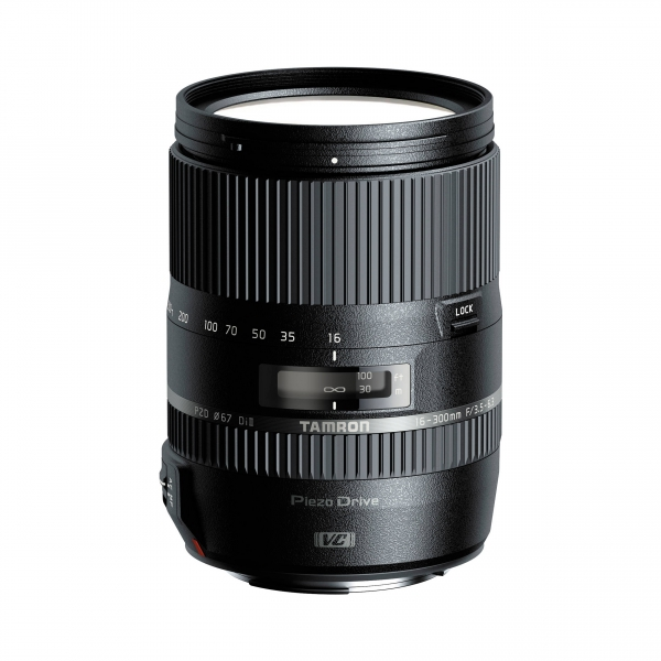 Tamron 16-300 mm F3,5-6,3 Di II VC PZD Macro objektív, Nikon DSLR fényképezőgépekhez 03
