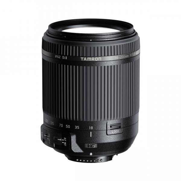 Tamron 18-200mm f/3.5-6.3 Di II VC objektív, Nikon DSLR fényképezőgépekhez 03