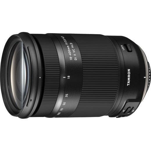 Tamron 18-400mm f/3.5-6.3 Di II VC HLD objektív Nikon DSLR fényképezőgépekhez 03