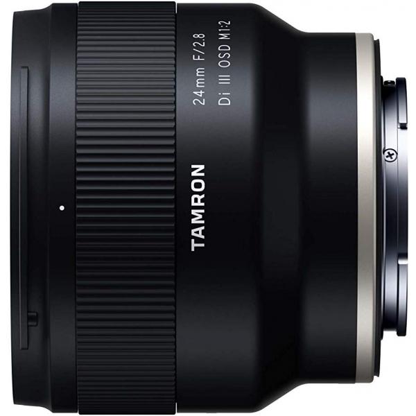 Tamron 24mm f/2.8 Di lll OSD 1:2 Macro  objektív, Sony E fényképezőgépekhez 03