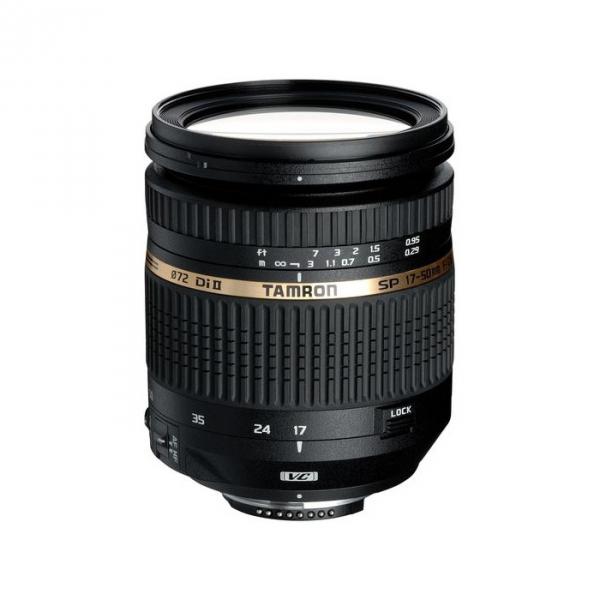 Tamron SP AF 17-50 mm F 2,8 XR Di II VC LD objektív, Nikon DSLR fényképezőgépekhez 03