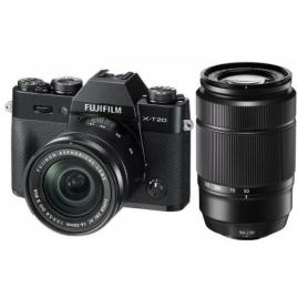 Fujifilm FinePix X-T20 digitális fényképezőgép kit, XC 16-50mm OIS II és XC 50-230mm OIS II objektívekkel
