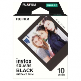 Fujifilm Instax SQUARE BLACK FRAME film, Instax SQUARE gépekhez, 10 db-os