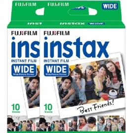 Fujifilm Instax WIDE film, Instax WIDE gépekhez, 20 db-os