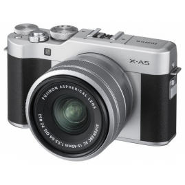 Fujifilm X-A5 digitális fényképezőgép FUJINON XC 15-45 mm objektívvel