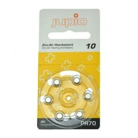 Jupio 10-es Hallókészülék elem Sárga (PR70)