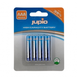 Jupio AAA - LR03 Alkáli elem mikro-ceruza 4 db