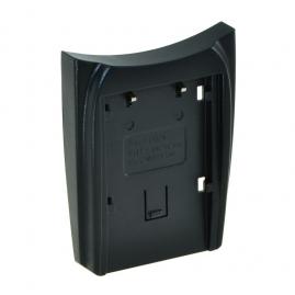Jupio cserélhető akkumulátor-töltő foglalat, Sony NP-FW50 akkumulátorhoz (3év)