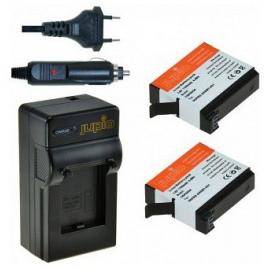 Jupio GoPro Hero 4 AHDBT-401, akciókamera utángyártott-akkumulátor, + töltő kit (3év)