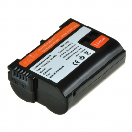 Jupio utángyártott-akkumulátor Nikon fényképezőgépekhez, Nikon EN-EL15 (3év)