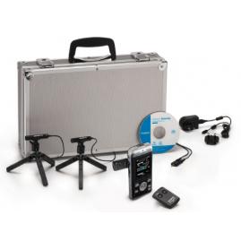 Olympus DM‑901 Konferencia Kit: DM-901 diktafon +  ME-30 + RS30W fém bőröndben