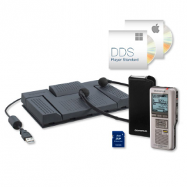 Olympus DS-2500 diktafon PRO Dictation & Transcription Kit