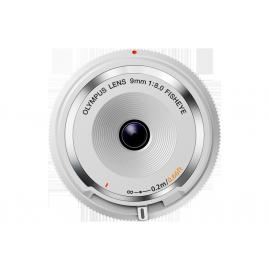 Olympus M.Zuiko 9mm 1:8.0 vázsapka méretű halszem objektív