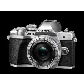Olympus OM-D E-M10 Mark III Pancake kit, M.ZUIKO DIGITAL ED 14‑42mm 1:3.5‑5.6 EZ Pancake objektívvel
