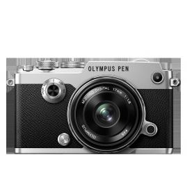 Olympus PEN-F 1718 Kit, M.ZUIKO DIGITAL 17mm 1:1.8 objektívvel