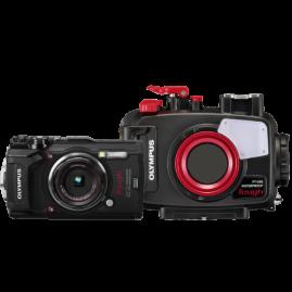 Olympus TG-5 digitális fényképezőgép és PT-058 búvártok, Open Water Diver Kit