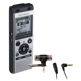 Olympus WS‑852 diktafon ME51 sztereó mikrofonnal