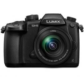 Panasonic LUMIX DC-GH5 digitális fényképezőgép kit, LUMIX G 12-60mm POWER O.I.S. objektívvel
