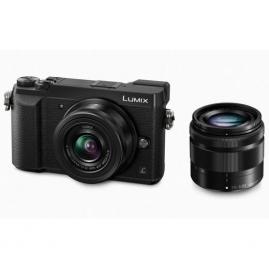 Panasonic LUMIX DMC-GX80 digitális fényképezőgép kit, 12-32mm / F3.5-F5.6 és 35-100mm F,28 objektívekkel