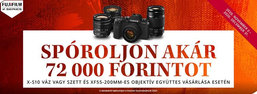 Bemutatkozik a Fujifilm fényképezőgépek legújabb tagja, a Fujifilm X-S10 fényképezőgép
